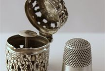 Thimbles  -  Scissors & Sewing  Items New & Vintage / by Cathy Stevens