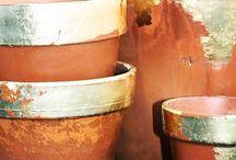 素焼き鉢 リメイク