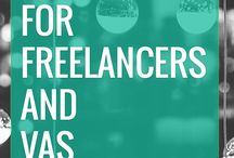 Freelancer Lifestyle / Filled with tips, tricks, and strategies for building and growing your business as a freelancer, whether it is a Virtual Assistant, Website Designer, Writer, or Copywriter.