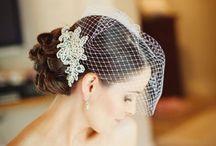 wedding headpiece  / by Susan Pena