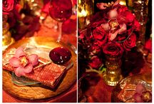 Red Wedding Ideas / Red Wedding decor and ideas for the ultimate luxury red wedding.