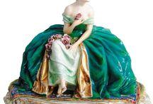 Pecas de porcelana Italianas
