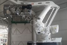0,5 1,5 lt Pet Su Taşıma Paletleme Robotu (one layer gripper) / Tara Robotik Otomasyon tarafından gerçekleştirilen 0.5 ve 1.5 litre pet su için bir sırayı bir kerede taşıyan robot eli tasarımı.