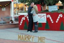 Just Lovely: Styled Proposal Photo Shoot 12.7.14 / A styled proposal shoot in Old Town - Albuquerque, NM