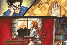 Harry and ginny in love