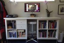 tekenkamer / inrichten van kleine tekenkamer