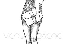 Fashion Sketches / by SAMIRA Rodriguez
