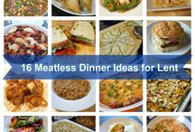 Fish Friday/Meatless Meals / Friday food. After I've tried them, pins