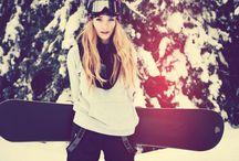 snowboard look