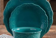 Ceramic in Teal / Mint / Turquoise