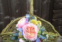 Theme (Country inspired wedding flowers) / Country rustic wedding flowers