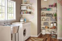 Rooms: Laundry / Nobody likes doing laundry. But we bet these laundry rooms take more than a bit of the boredom out of weekly washing. Wow!