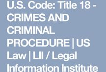 US Criminal Law / Laws I find interesting, reference for my armchair law practice. If the shoe fits, wear it...CIA perps, FBI perps, and their co-conspirators