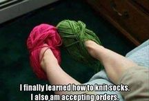 funny knitting and crochet