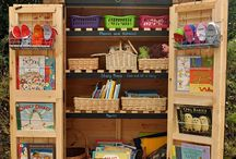 Reading Areas / A collection of ideas to provide a stimulus for developing reading areas.