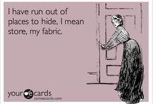 Sewing room humor