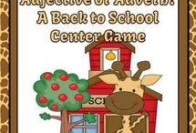 Literacy Centers / Literacy Center Game Resources for the Kindergarten to Sixth Grade Elementary School Teachers. / by Fern Smith