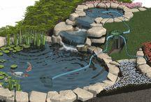 Pond Designs & Water Retention / DIY Ponds, Troughs, Settling Basins, & Water Retention Solutions