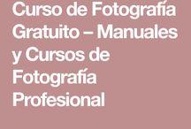 Cursos y retos en Fotografias