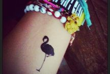 Flamingo tatoo