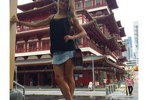 Denim Skirt & Co