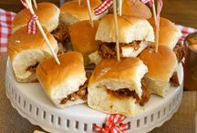 Party ideas/foods