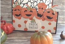 Stampin UP! Helloween