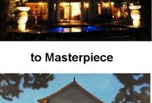 Transforming homes into Masterpieces  / Some before and after pics of homes transformed into works of Art