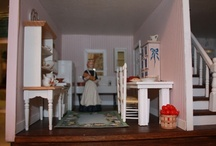 Dollhouse Kitchen | DIY / Miniatures for the dollhouse kitchen - see also 4 other boards for kitchen furniture and major appliances and food