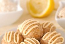 No Bake Lemon Coconut Balls