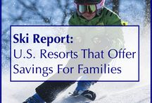 Winter Family Activities / Tips, tricks and inspiration for winter family travel destinations and winter family activities.