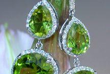 Peridot 'August Birthstone' Jewellery