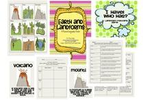 Classroom - Earth's Landforms