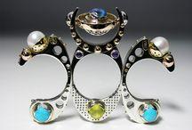 Claudio Pino: Scupltural Kinetic rings - Mobilia Gallery