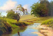 Pintura paisagens artistas