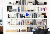 Deco - entertainment unit & book shelves