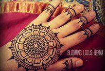 Mehndi/Henna / Pretty henna designs