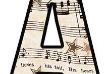 Music Alphabets