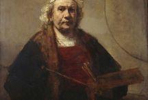 Rembrandt önarcképek