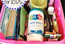 Travel with kids essentials & games