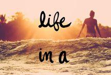live life in a bikini