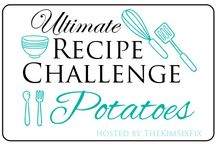 Potatoes: Ultimate Recipe Challenge / All the best potato recipes from amazing food bloggers.   This is a group board for members of the Ultimate Recipe challenge to showcase their potato recipe entry as well as any additional potato recipes.