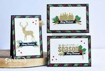 christmas cards merry patterns su!