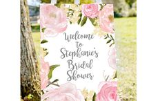 Bridal Shower ideas - including FREE printables! / Bridal shower printables, only affordable and free items here