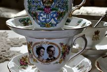 Happy Birthday Your Majesty from Hope & Glory / 90 years shown in teacups!
