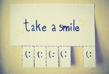 Take a smile  Sorrido e sorridi / Wonderful idea, isn't it?