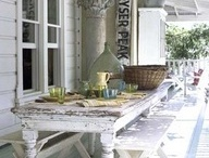 Outdoor space / by Ginger Lobb