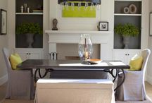 dining rooms / by Wallis Ronchetti-Morris