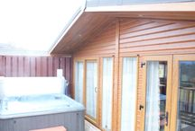 Hot Tub Lodges / Hot tub lodges located throughout our beautiful parks!
