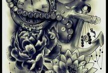 Girly Tattoos Sleeve